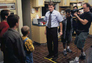 Go behind-the-scenes and witness what sitcoms look like from a work perspective.