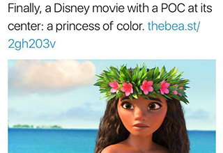 Tried to shame Disney? Even kids would do better with facts than whoever is running Daily Beast twitter account.
