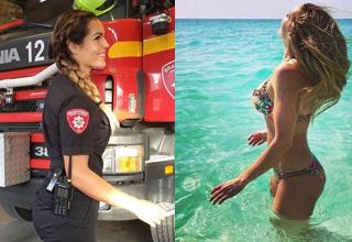 Gunn Narten broke the mold and followed her dreams of being a Firefighter.
