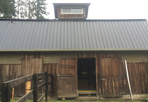 Hank White from British Columbia bought a property with this old barn included. What he turned it into is incredible. Check out more of his stuff at http//:hankwhite.co