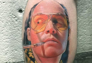 David Corden is one talented guy and his tats look incredibly real.