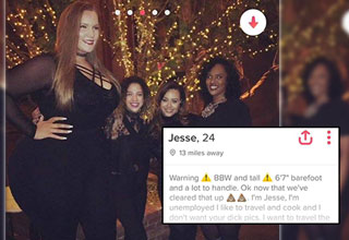 Black Twitter lost its mind after finding the Tinder profile of a girl they named 6'7 bae, this is her story.