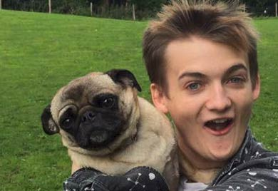 The newest pic of Jack Gleeson on Twitter gets retouched by the internet.