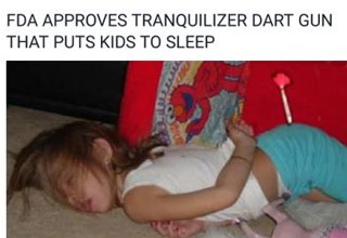 A fake story about tranquilizers for kids recently had the internet all fired up.