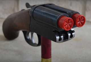 Firing Antique Chinese 9-Barrel Hand Cannon - Wow Video | eBaum's World