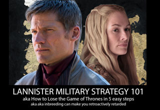 What the hell happened in the latest episode of Game Of Thrones? The Lannister Military Strategy is really horrible.