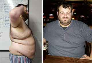 guy loses 150 pounds after a bad relationship