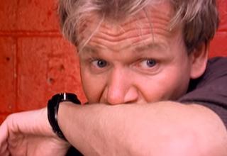 Gordon can't believe his eyes at this disturbing establishment.