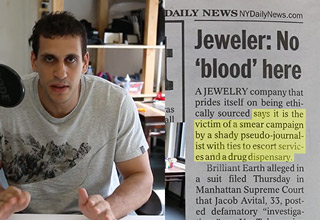 This guy called out Brilliant Earth Diamonds for shady practices and policies and got sued!