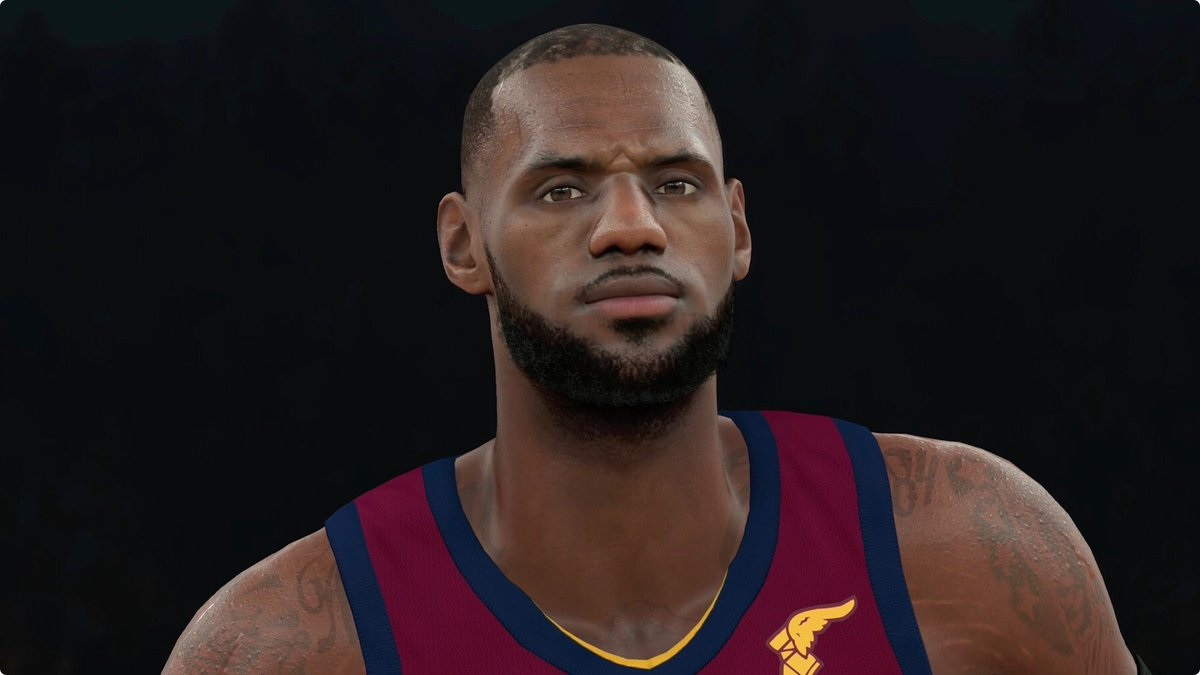 350c7fbed4d0 Watch LeBron James  NBA 2K Character Transform From Pixels Into  Real  Life  - Wow Article