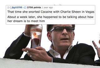 charlie sheen holding up tiger blood