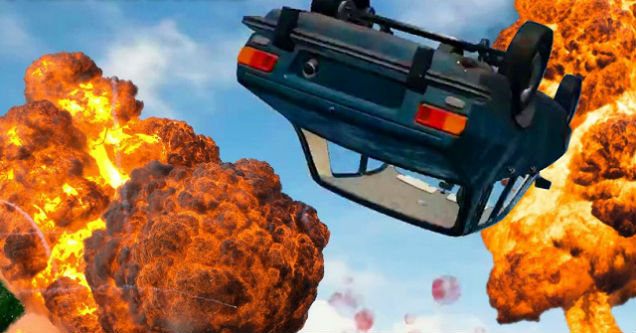 Car Rolls Down Hill And Crushes Players In Hilarious PUBG Fail b3077467c
