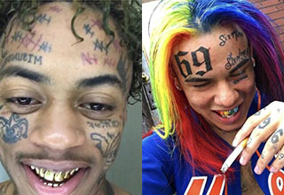 I guess in today's world you have to stand out to get noticed. Here are 5 of the strangest looking rappers out.
