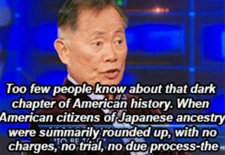 In 1942, the United States imprisoned thousands of its own citizens within Japanese internment camps. George Takei describes his experience, and how history may be repeating itself.
