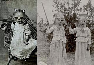Costumes that might give you nightmares....