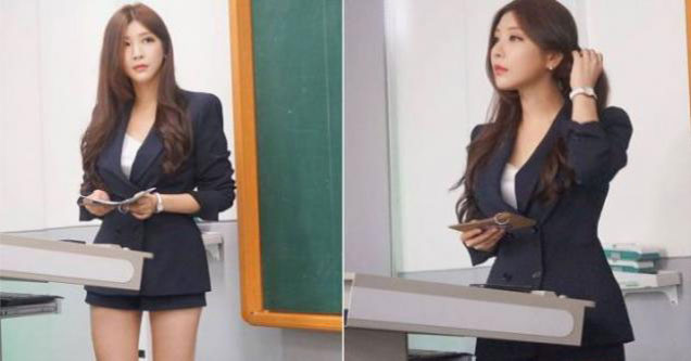 Young Korean Teacher Is Getting A Lot Of Attention On -8206