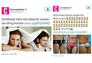 Cosmopolitan is so dumb it's hilarious.