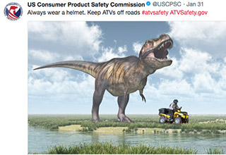 "The US Consumer Product Safety Commission is a serious organization. he CPSC seeks to promote the safety of consumer products by addressing ""unreasonable risks� of injury and developing safety standards. Their twitter account, however, is a place where memes meet safety. Take a trip through some of their most bizarre tweets."