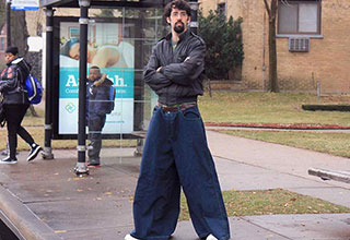 This is your last chance to re-live the 90's with the world's most ridiculous jeans.