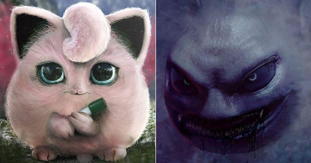 Pokemon Sure Look Creepy And Awesome In Real Life Ftw Article