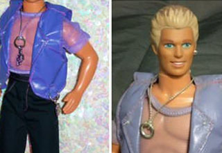 Magic Earring Ken was in stores for SIX WEEKS until the old geezers realized what he was meant to represent.