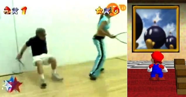 2715b3e21 New Super Mario 64 funny painting meme. Gaming super mario 64 meme gaming  meme super