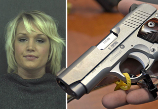 Police pulled Anika Whitt over for speeding, then found drugs in her bra and a gun in her...
