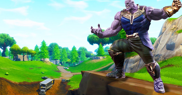 Infinity War's Thanos Invades Fortnite In Awesome New Game