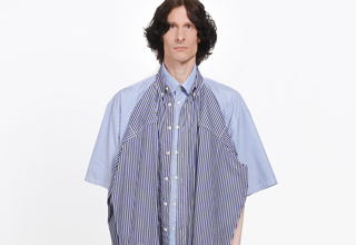 The popular fashion brand Balenciaga is selling a new T-shirt - for $1,200. And folks online are calling it the UGLIEST T-shirt ever made in human history.