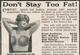 Ads from a time when topics that spark current-day outrage were the norm.