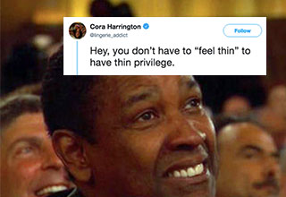 Is being thin a privilege?