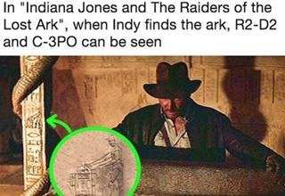 Pop culture references and other things that were hiding in plain sight.