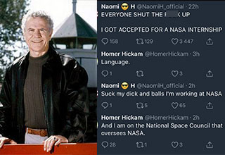 Social media was abuzz after a woman named Naomi H won and lost an internship at NASA in less than a day thanks to this tweet.
