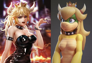 "Just a small sampling of what has exploded onto the meme scene. This meme's origin, aside from the ancient <a href=https://knowyourmeme.com/memes/rule-34>Rule 34</a>, is from the New Super Mario Bros. U Deluxe, a new game for the Nintendo Switch. In it, there's a new character Toadette, who can transform into Peachette (a character who can double-jump and glide). This spawned a cartoon created by twitter user @ayyk92, who created a comic about how Mario and Bowser were romantically rejected by Peachette, so Bowser turns into Bowsette -- a sexy, anthropomorphic character who starts dating Mario. <br/><br/>  At its core, it appears the Bowsette meme is retribution for years of Peach being unreachable. She was the only woman in the Mario universe, constantly frustrating both Mario, Luigi, Toad, and Bowser. This is literally a celebration that a new dark, hyper-sexual character is in the Mario universe, which renders Peachette disinteresting.   <br/><br/>   Want More? <a href=""http://www.ebaumsworld.com/pictures/46-more-bowsette-memes-and-fan-art/85774949/"">46 More Bowsette Memes and Fan Art</a>"
