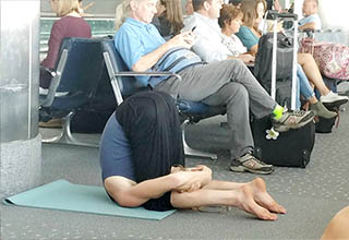Things that could only happen at the airport.