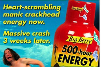 A meme about 500 hour energy.