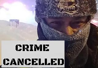 "These officers just want to stay indoors. Grand Rapids Police ""Cancelled Crime"" after temperatures got in the single digits. Facebook users got a laugh out of the cheeky post."