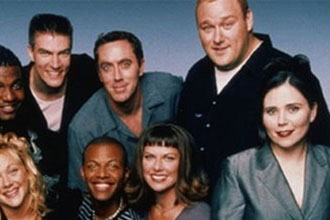 The cast of Mad TV.