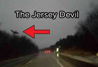 New Jersey highway. The Jersey Devil.