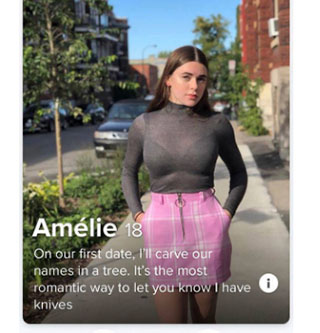 Tinder is a cesspool of horrible hormonal hookup garbage and we are here for it. Swiping is a lot of work, these people try and make it easier for you to swipe. People are wild and they are even wilder on the internet and they get even wilder when it comes to trying to hook up online.  <br><br> Check out some more <a href=https://www.ebaumsworld.com/pictures/29-of-the-most-shameless-profiles-on-tinder/85999883/> Tinder</a> profiles and we are warning you now, it does get crazier!
