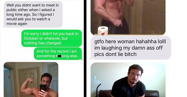 A huge douchebag yelling at a girl.