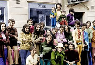 Group of people with Osama Bin Laden.