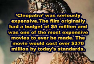 Cleopatra with text overlay.