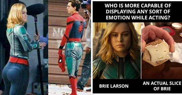 24 Captain Marvel Memes For You To Marvel At Wow Gallery