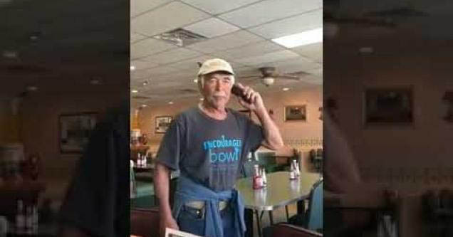 A sexy old man calls the police cause he's also racist.e