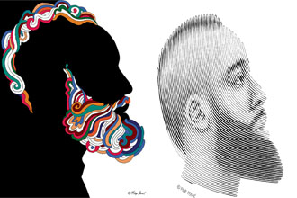 James Harden Illustrated is a project where profile of James Harden is illustrated using various mediums, techniques and styles. Without creative brief or constraints from the client, this experiment is like a training ground for a creative mind. Artist credit: Felip Peraic: https://www.peraic.com/work/james-harden-illustrated/