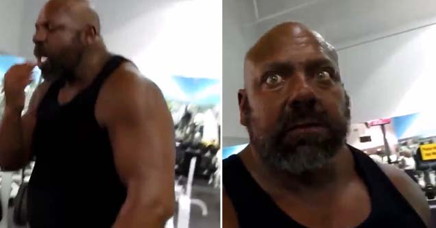 Weightlifter Gets Caught In The Act Wtf Video Manowar is the only person who has survived an attack by big lenny, getting by only with a huge bump that hurts when touched. weightlifter gets caught in the act