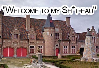 Belgium has become notorious for its quirky buildings.  One blogger took it upon himself to document and roast a few of them.