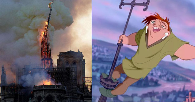 30 Quasimodo And Notre Dame Fire Memes That Will Probably