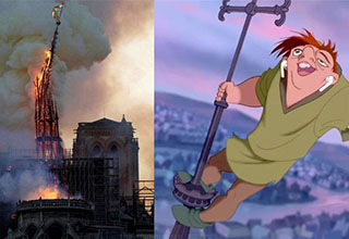 "Quasimodo memes started showing up all over the Internet today after news of the <a href=""https://www.ebaumsworld.com/articles/notre-dame-cathedral-is-on-fire/85936204/"" target=new>Notre Dame Cathedral fire</a> was announced. While some people shared their thoughts and prayers, others took the opportunity and made <a href=https://knowyourmeme.com/>memes</a>. Here are some of those memes.  <br> <br> Check out even <a href=""https://cheezburger.com/8171269/16-twisted-notre-dame-memes-thatll-take-you-straight-to-hell"" target=new>more Notre Dame fire memes</a>"